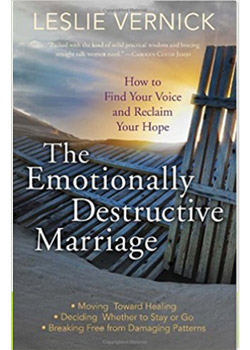 Book Cover for The Emotionally Destructive Marriage by Leslie Vernick