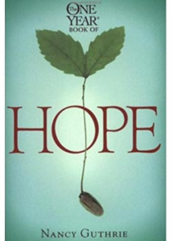 Book Cover for The One Year Book of Hope by Nancy Guthrie
