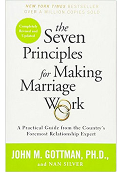 Book Cover for The Seven Principles for Making Marriage Work by John Gottman, PhD