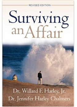 Book Cover for Surviving an Affair by Willard Harley and Jennifer Harley Chalmers