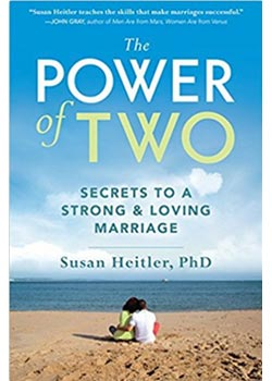 Book Cover for The Power of Two: Secrets to a Strong and Loving Marriage by Susan Heitler